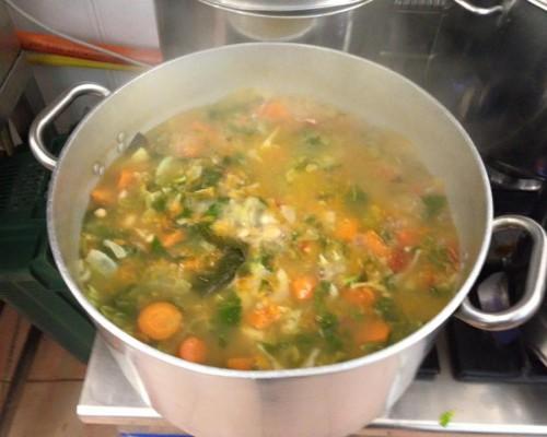 La zuppa d´autunno