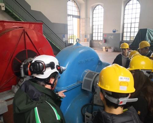 Visita alla centrale idroelettrica