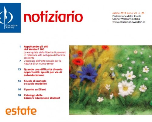 Notiziario - Estate 2019