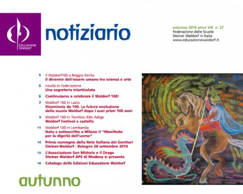 Notiziario - Autunno 2019