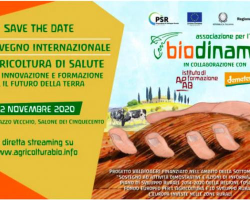 Un´agricoltura di salute. 36° convegno internazionale di agricoltura biodinamica