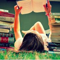 Grazie per i libri!