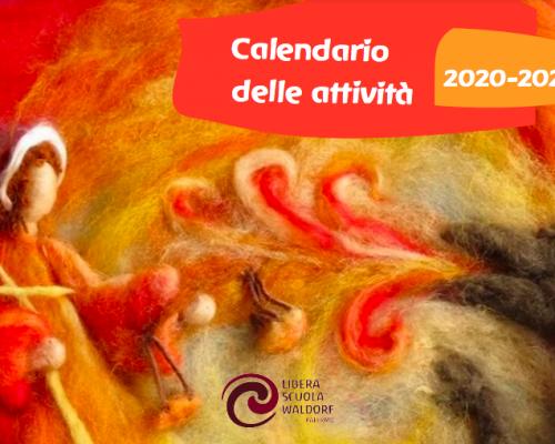 Calendario delle attività 2020-2021