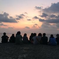 L´VIII classe e l´alba di San Michele